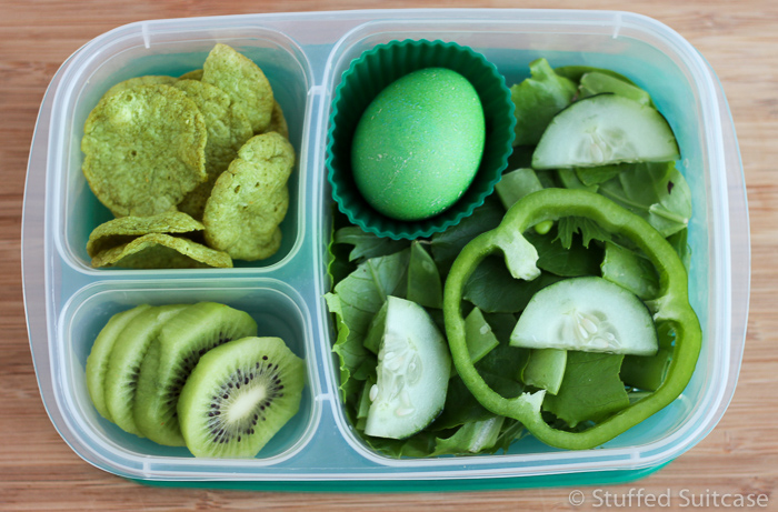 Click this link to find out exactly what's in this green-themed lunch.