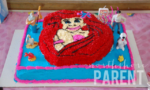 ariel party cake