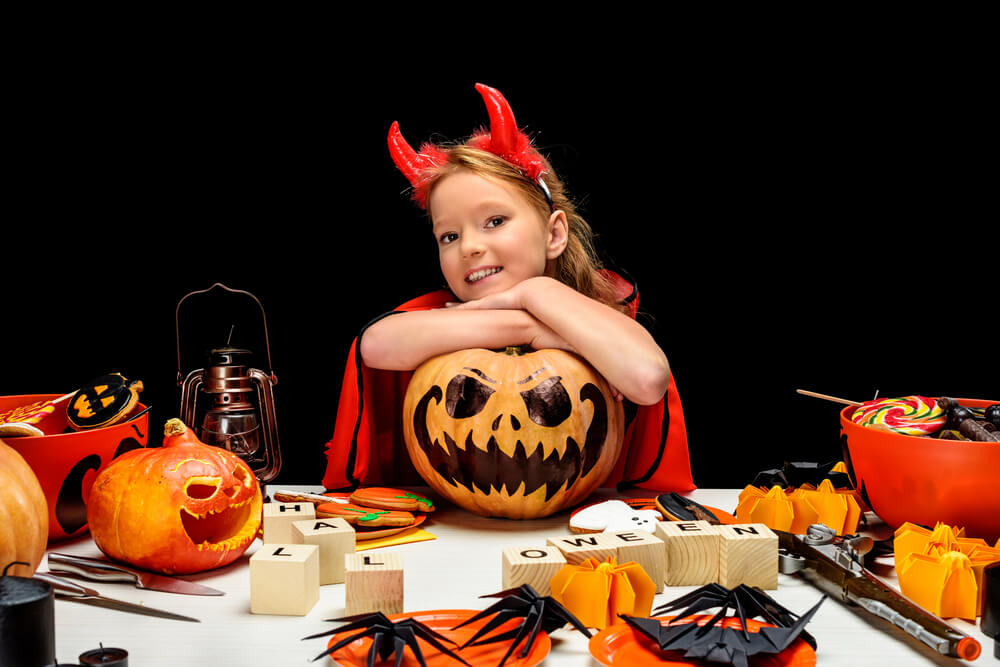 How To Get Older Children Involved in Halloween
