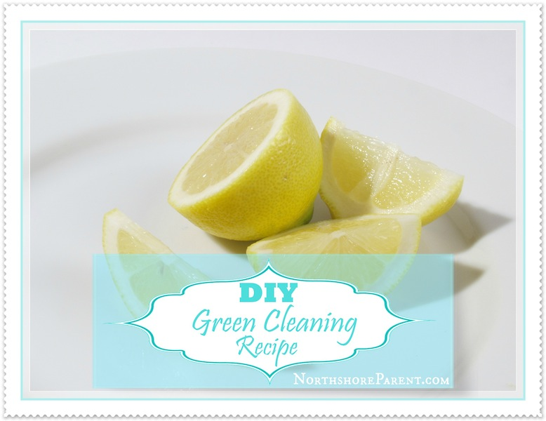 DIY Green Cleaning Recipe