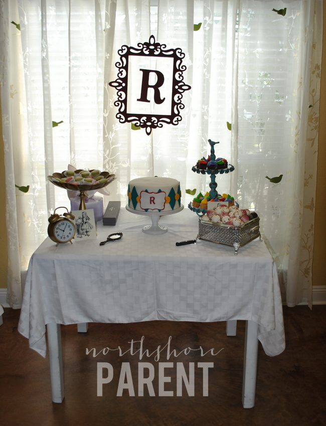 Alice in Wonderland Baby Shower
