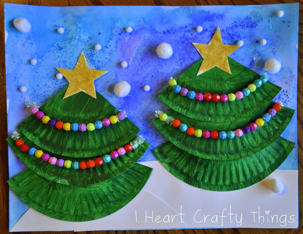 101 Crafts With Paper Plates Northshore Parent & Christmas Paper Plate Craft - Castrophotos