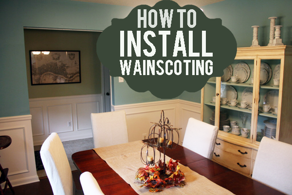how-to-install-wainscoting