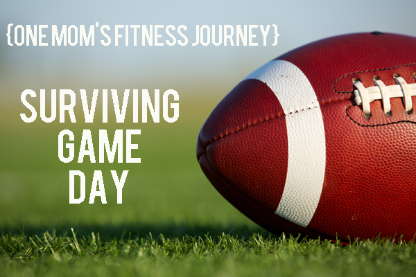 {One Mom's Fitness Journey: Weeks 3-4} Surviving Game Day