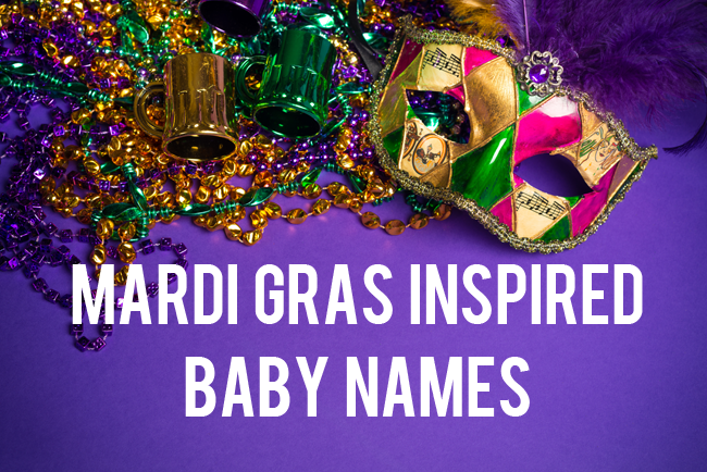 Mardi Gras-Inspired Baby Names