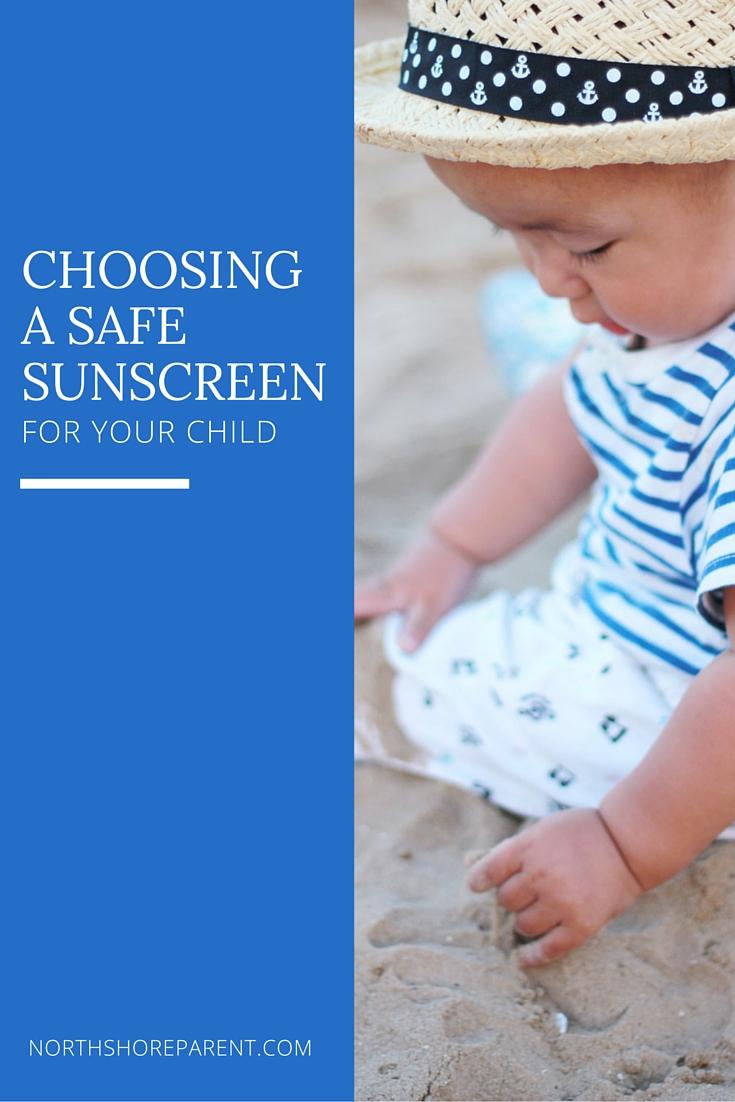 choosing a safe sunscreen