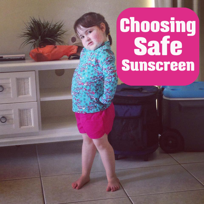 Choosing a Safe Sunscreen for Children