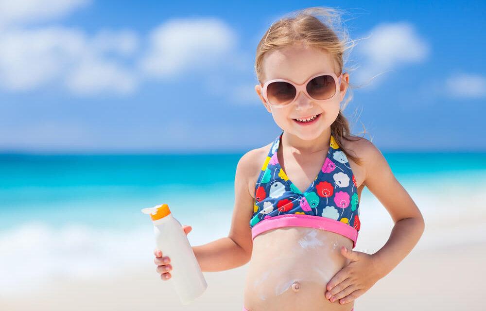 Choosing a Safe Sunscreen for Children