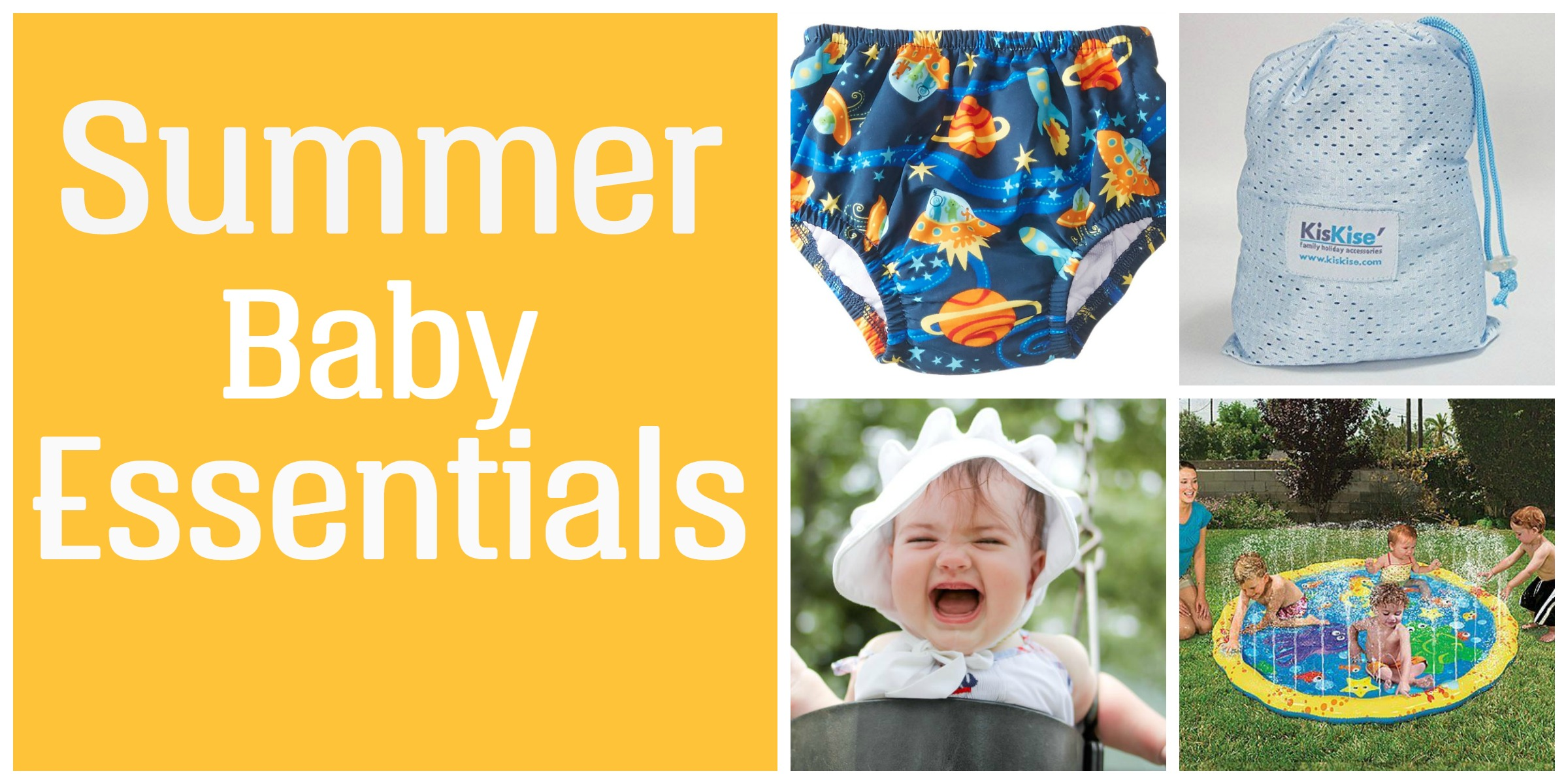 Four Summer Baby Essentials