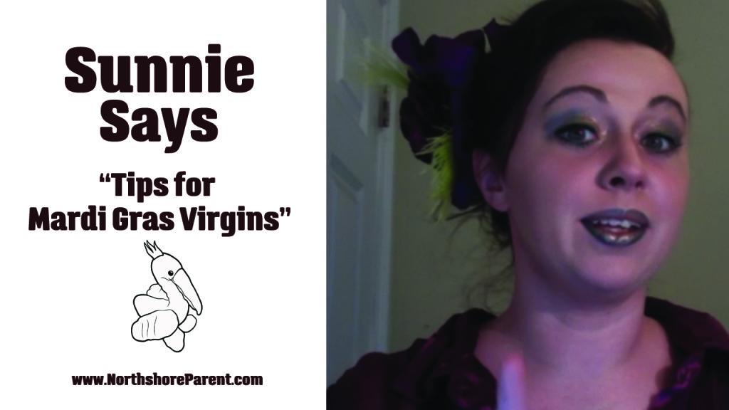 tips for mardi gras virgins