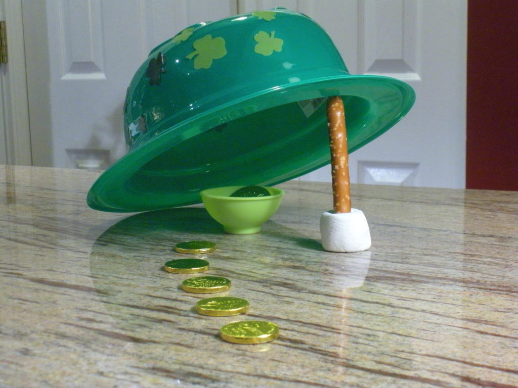 Click this image for instructions on how to make this leprechaun trap!