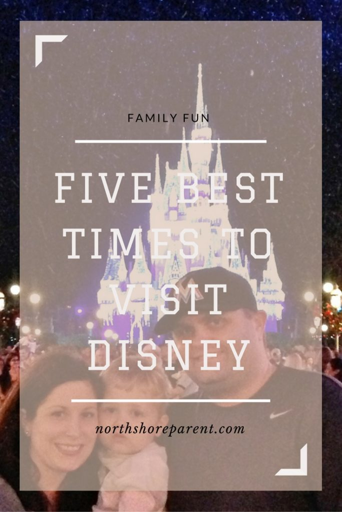 The Five Best Times to Visit Disney World