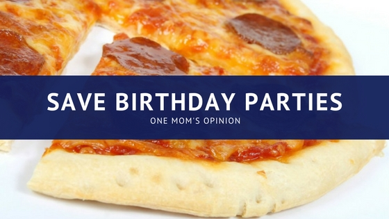 Save Birthday Parties
