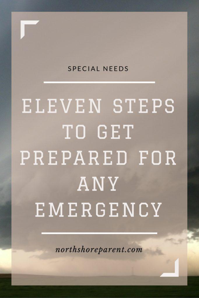 Eleven Steps to Emergency Preparedness
