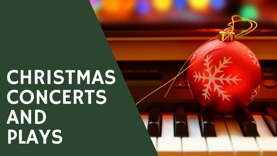 list of christmas concerts and plays on the northshore