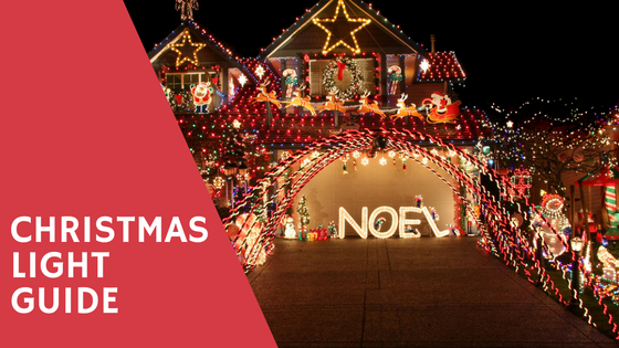 where to find christmas light displays on the northshore