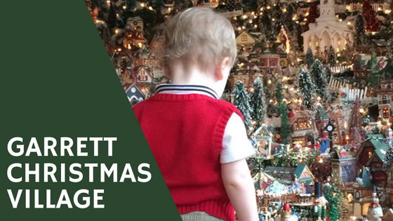 information and pictures about the Garrett Christmas Village