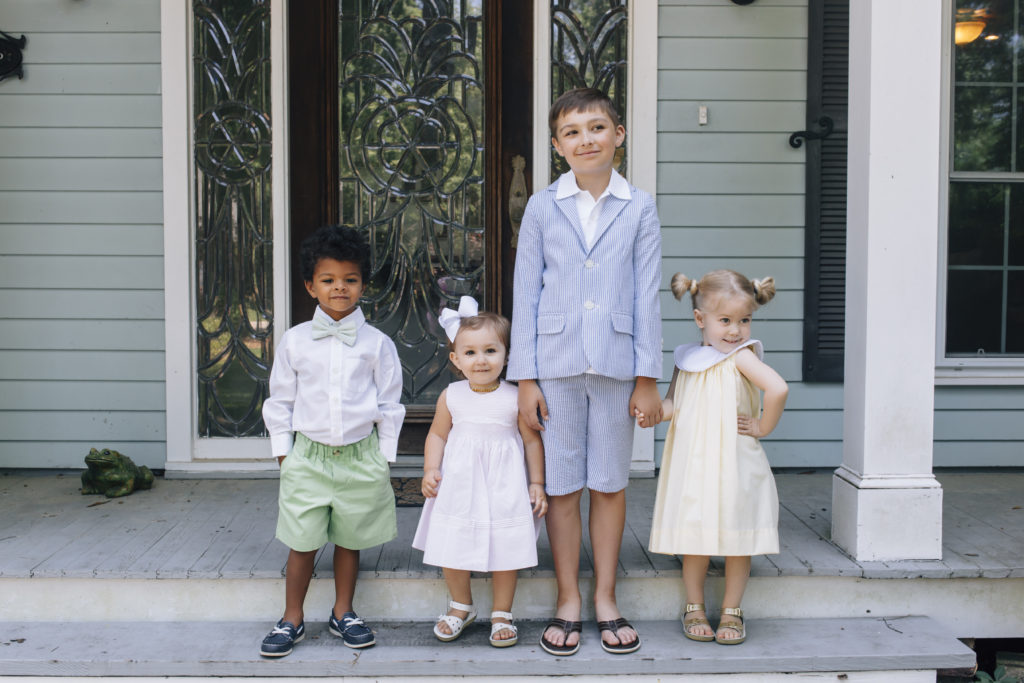 Family backdrops for party photography