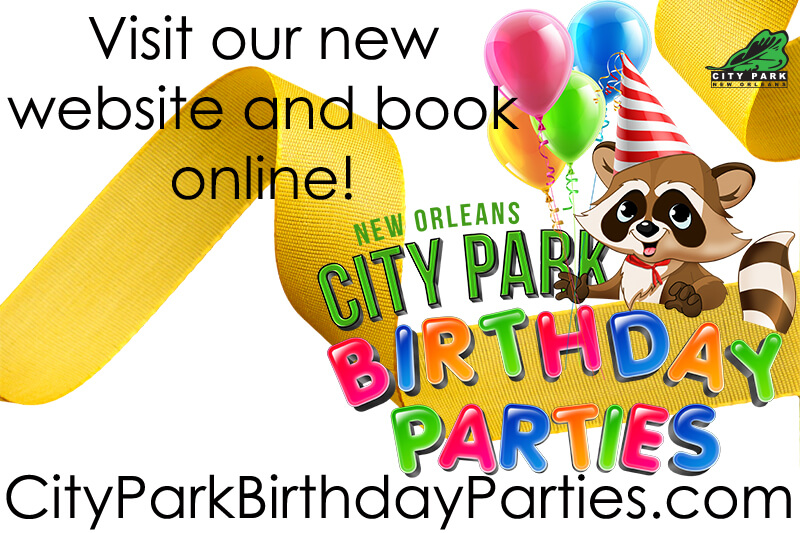 Birthday Parties At City Park New Orleans