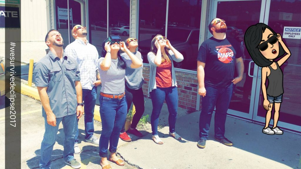 The Northshore Watches the Eclipse 2017