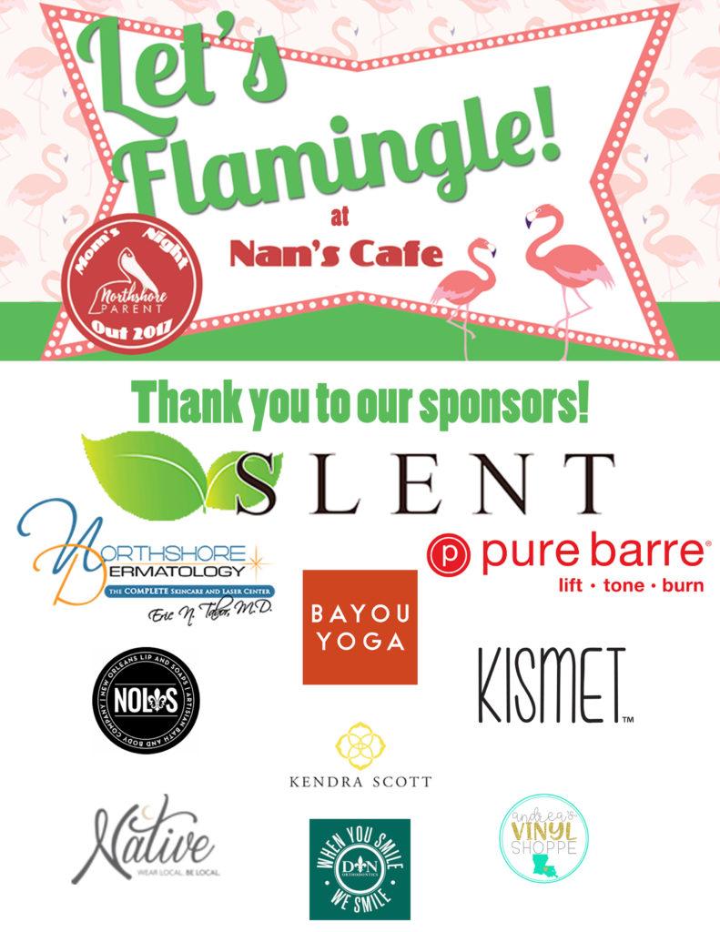 Let's Flamingle! Northshore Parent Moms' Night Out