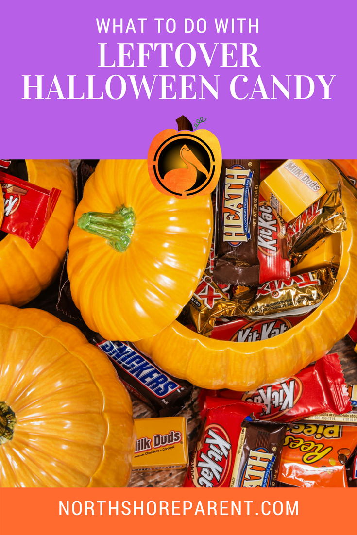 what should you do with leftover halloween candy? - northshore parent
