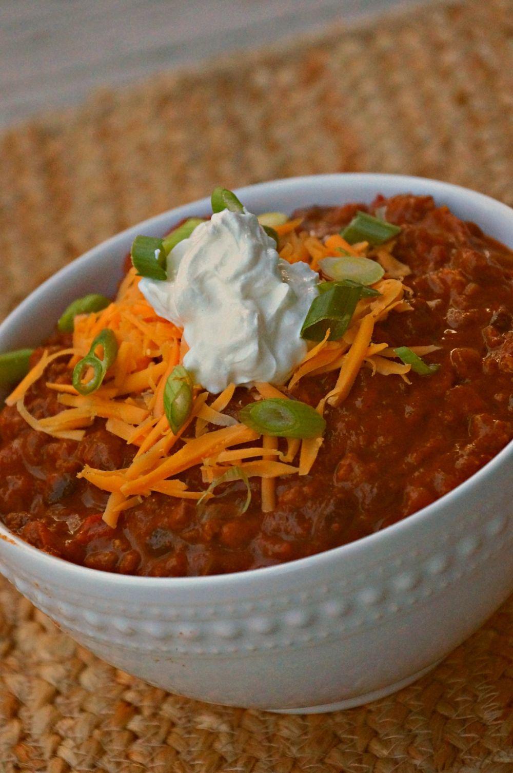 Tailgate Beef Chili Recipe