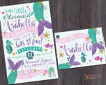 7 Adorable Mermaid Party Invitations for Your Next Birthday Bash