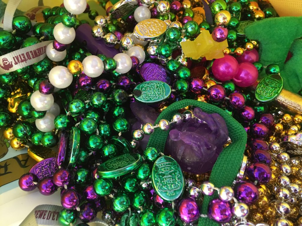 Mardi Gras Bead Recycling on the Northshore