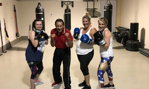 Boxing at Pelican Athletic Club