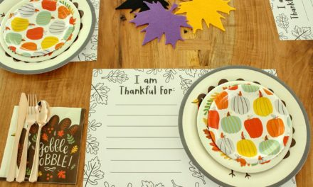 A Paper Plate Thanksgiving