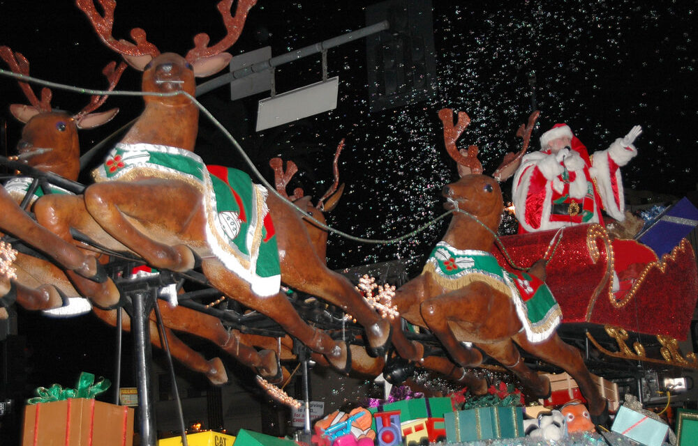 South Louisiana Christmas Parades