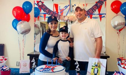 Baseball Themed Birthday Party {Paul's Triple Play}