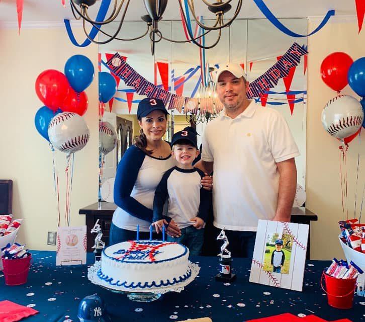 Baseball Themed Birthday Party {Paul's Triple Play}