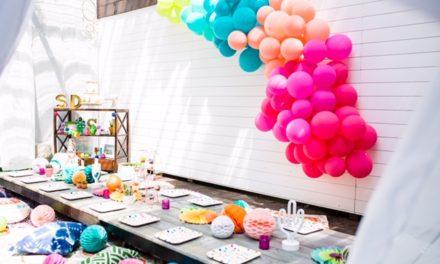 Coachella Themed Kid Party Takes Backyard Bashes to the Next Level