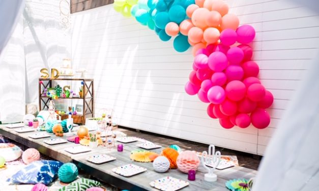 Coachella Themed Kid Party Takes Backyard Bashes to the Next Level