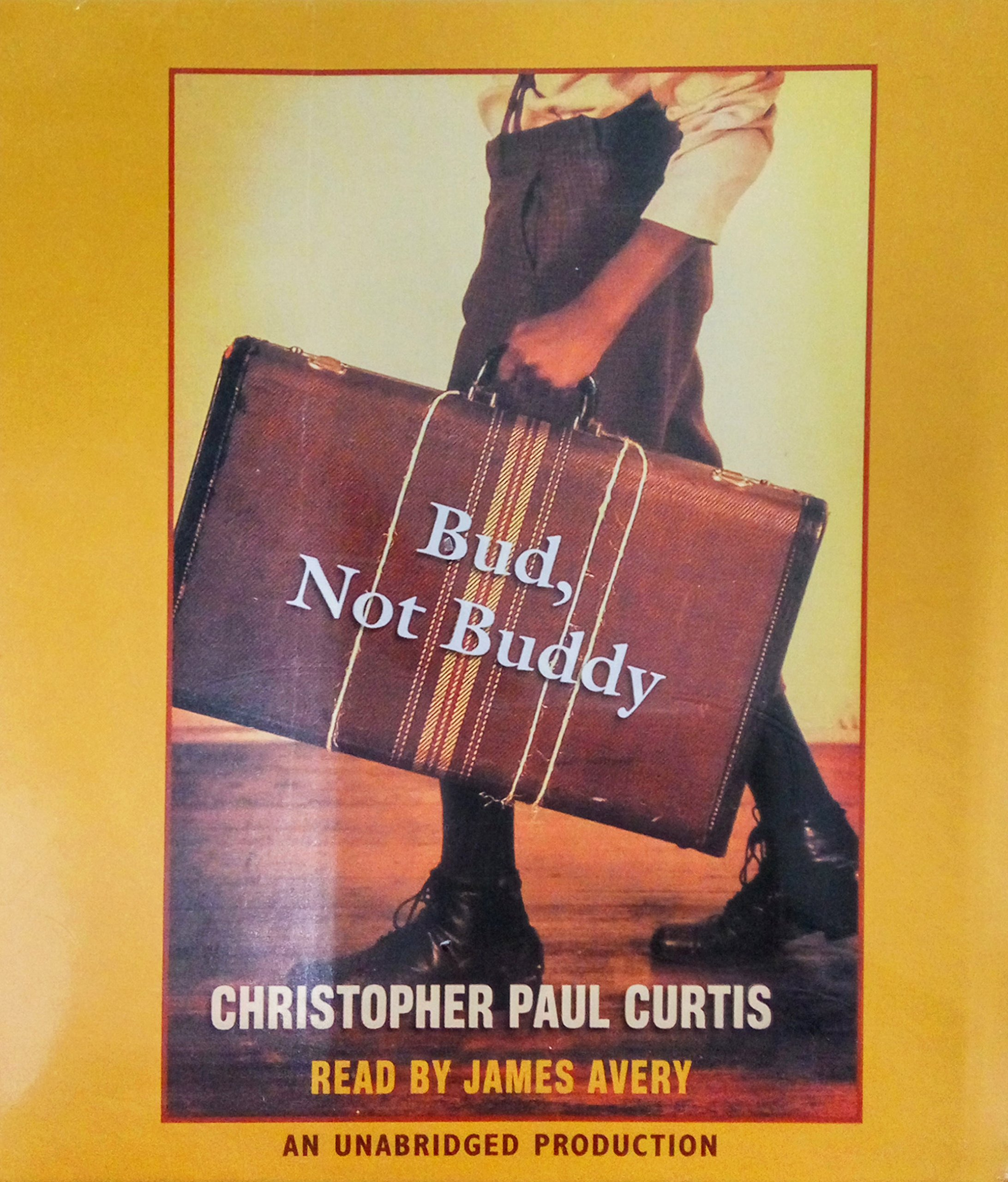 cover of bud not buddy audio book
