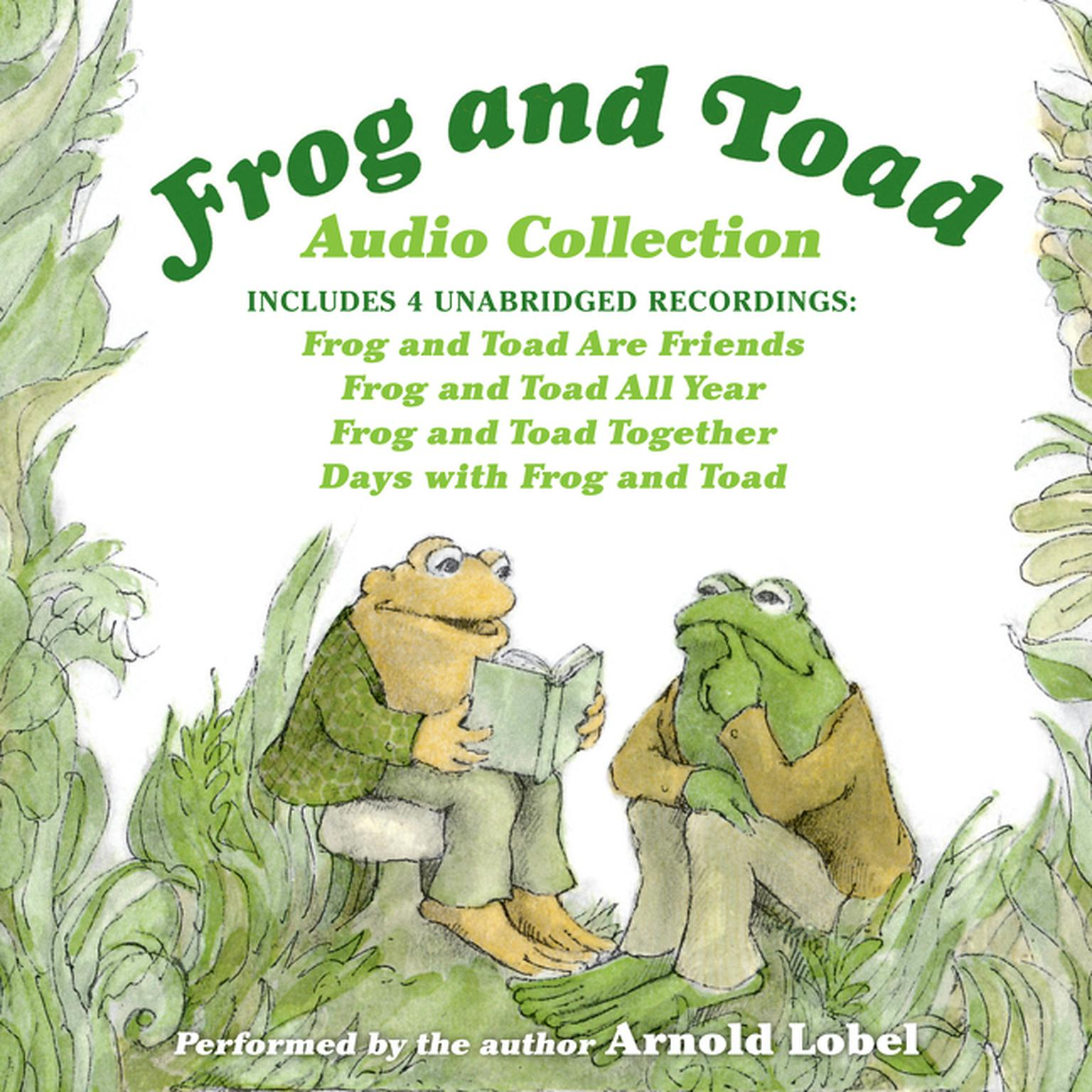 cover of the frog and toad audiobook