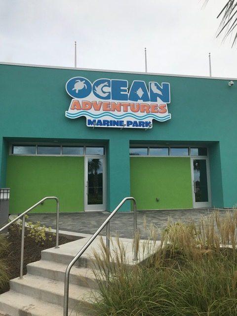 entry to ocean adventures