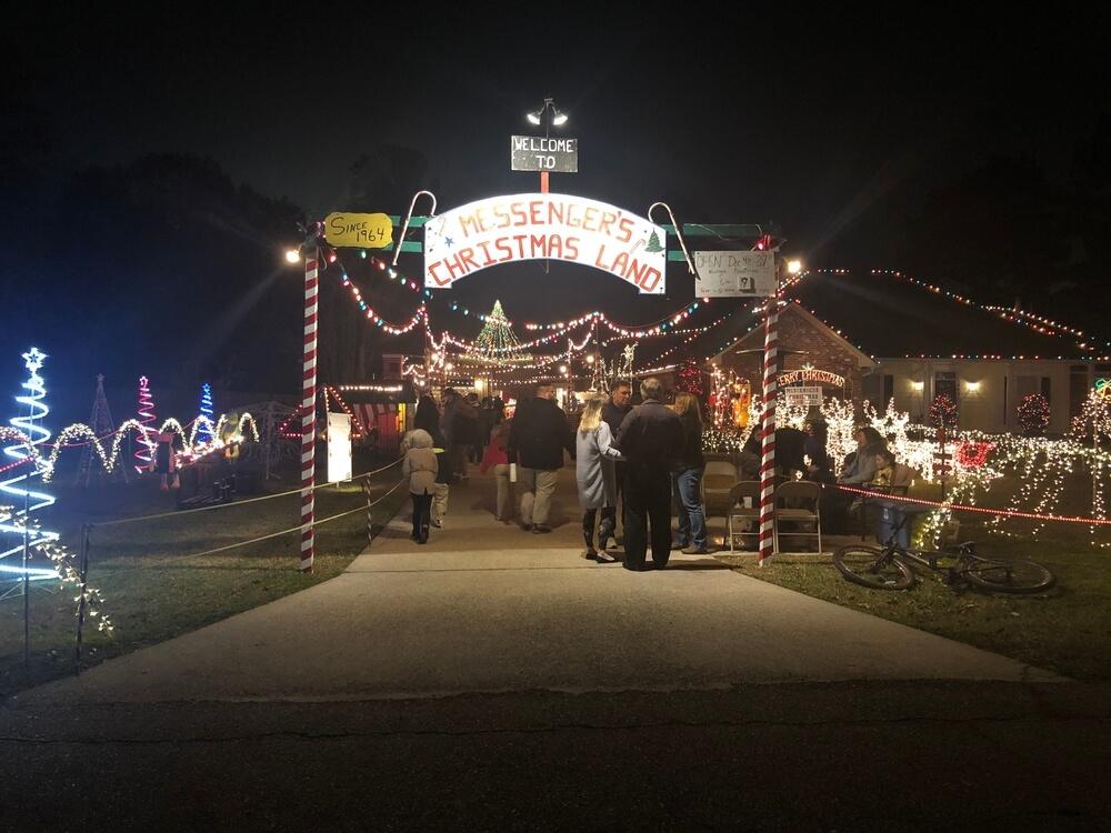 2021 Denham Spring Christmas Lights The Messenger S Christmas Land Know Before You Go Northshore Parent